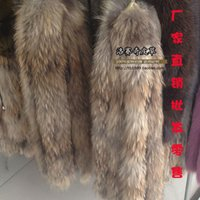 Wholesale Real Fur Collar Cuffs - Wholesale-real Fox fox fur vigoreux fur collar hat raccoon fur clothes cuff wool