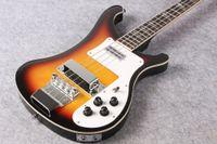 Wholesale Sunburst Bass - RIC Custom Desert Sunburst 4 Strings 4003 Electric Bass Chrome Hardware White Pearloid Triangle Fingerboard Inlay