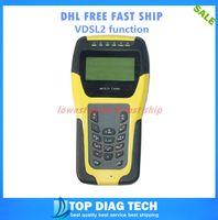 Wholesale Lan Meter - Wholesale-DHL FREE VDSL2 Tester ADSL WAN & LAN Tester xDSL Line Test Equipment DSL Physical layer test ST332B METER