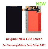 Wholesale Galaxy S Replacement Lcd - For Samsung Galaxy Core Prime SM-G361 G361F Original New LCD Screen Replacement 10pcs lot free shipping