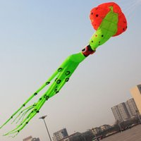 Soft Kites squid kite - 3D10 meters large software kite squid kite software pendant octopus