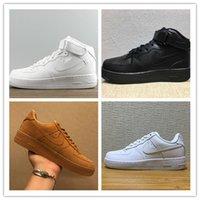 Wholesale Eur Size 46 - 2017 High Quality Forces I one Men Women Caual Shoes Unisex Massage Low High Flat Leisure Shoes skateboarding shoes size eur 36-46