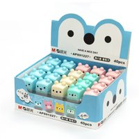 Gros-1 MG Pcs Mini Cute Cartoon Kawaii Bonbons Standard School Colored Supplies crayon pour les enfants filles papeterie Articles
