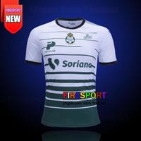 Wholesale Manga Men - New Arrived Mexico CLUB 16 17 SANTOS LAGUNA DE TORREON Third SOCCER JERSEY MARCA 2017 MANGA LARGA LIGA MX CHIVAS Tigres football shirts