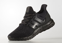Wholesale Price For Sale - Ultra Boost 3.0 Triple Black running shoes Wholesale prices for sale hot sales Ultra Boost shoes free shipping CG3038-1