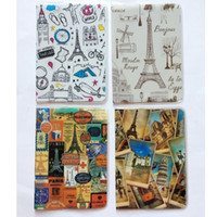 Wholesale London Cover - 2017 New Passport covers Travel London Eiffel Tower passport ID holders Card holders Kids Gift Free shipping C332