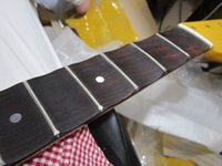 Wholesale Guitar Neck 21 - 21 22 Fret Big headstock Electric Guitar Neck Rosewood fingerboard Guitar Parts musical instruments accessories