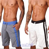 Wholesale Cheap Wholesale Sweats - Wholesale-Cheap Price Casual Men's Soft Sports Running Loose Shorts Sweat Knee Length M L XL Hot Selling