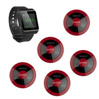 Wholesale SINGCALL wireless calling pagers with three keys and black APE6800 watch