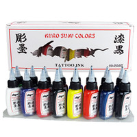Wholesale New Tattoo Ink Pigment Set Colors Kits for Body Art Tattoo ml OZ Professinal Makeup Tattoo Inks for D makeup beauty skin