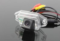 Wholesale Prado Reverse Camera - HD CCD Car Reverse Camera For Toyota Land Cruiser Prado Parking Rear View Water Proof Dust Proof Night Vision Wide Angle