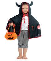 ingrosso costumi da presa-Zucca di Halloween Borsa portatile Costumi non tessuti Borse Candy 3D zucca Trick Treat Basket Zucca Jack O Lantern
