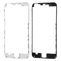 carcaça do iphone 5s bezel venda por atacado-De alta qualidade para iphone 5 5s 5c 6 6 plus moldura moldura moldura de suporte de habitação com cola quente substituição