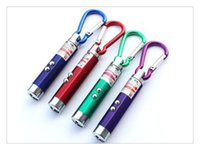 red laser pointer key chain Canada - best holiday lights 3 in1 LED Mini Flashlight Aluminum Alloy Torch with Carabiner Ring Keyrings mini Flashlight Red Laser Pointer