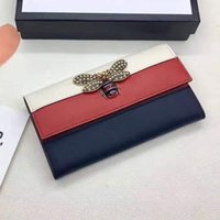 Wholesale European Flowers Pattern - 2017 Newest Advanced design Fashion Women purse Zipper Around wallet Flower pattern female Wallets Handbags Retro Brand wallet