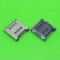 Wholesale-3pcs / lot Brand New Per Parte LG Optimus L7 II P715 SIM Card Reader connettore Socket Slot Repair sostituzione