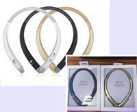 Wholesale Bluetooth Neckband Headset - 2016 New 4.1 HBS913 HBS 913 Bluetooth Headset earphone for LG iPhone Samsung iphone7 7plus s7 s7edge