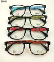 Wholesale Free Prescription Glasses - wholesale Myopia Optical Frame Prescription Eyeglasses Shortsightedness Glasses Half Black Frame Cheap Eyewear 10pcs Free Sh