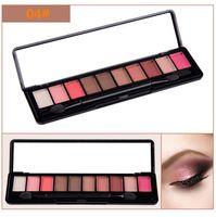 Wholesale Smoke Palette - HOT new Makeup Eye Shadow MX 10 color eyeshadow palette pearl matte earth smoke color grapefruit color