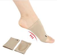 Wholesale Foam Sleeves - Arch Support Orthotic Plantar Fasciitis Cushion Pad Sleeve Heel Spurs Flat Feet Orthopedic Pad Correction Insoles Foot Care Tool