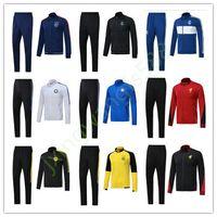 Wholesale Men Jackets Free Shipping - AAA+ quality ajax soccer jacket 2017 2018 Real madrid ISCO BALE JAMES jackets kits Dortmund tracksuit jacket Sweatshirt free shipping