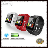 Bluetooth Smart Watch U8 Sport Orologio da polso anti-perso per IOS IPhone 6/7/8 s Plus Android Samsung S8 / Note HTC Mobile Phone