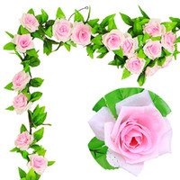 Wholesale Decorative Artificial Roses - Silk Artificial Flowers for Wedding Opening Ceremony Pink Red Champagne Decorative Rose Flower Wall Mounted Wreaths Romantic
