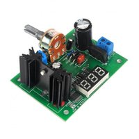 Wholesale Lm317 Voltage Regulator Power Supply - LM317 Adjustable Voltage Regulator Step Down Power Supply Module with LED Meter