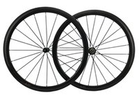 Wholesale Rear Hub 24h - 700C Carbon Road Bike Wheels 38mm Clincher Bicycles T700 Full Carbon Fiber Bicycles Wheels 20H 24H Novatec Hub CN or Pillar Spokes