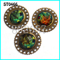 Wholesale Buttons Sewing Pearls - latback Shape Metal Rhinestone buttons with pearl,50pcs lot,,35MM,Sewing on Buttons M69338 Buttons Cheap Buttons Flatback Shape Metal R...