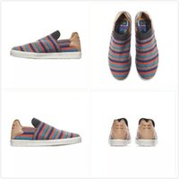 Wholesale Lazy Men - Pharrell x Originals Slip On, Pharrell Williams elastic slip on Men and Women Fashion Shoes Summer Lazy Shoes