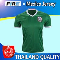 Wholesale Mexico Jersey Cheap - Thai Quality Customized 16-17 new season Mexico home 14 CHICHARITO Soccer Jerseys mens Athletic Outdoor Cheap 11 AQUINO 10 G.DOS SANTOS wear