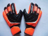Wholesale White Latex Gloves - 2016 Top Latex Bola De Futebol Gloves Football With Fingerstall Professional Game Soccer Goalkeeper Gloves Guantes De Portero