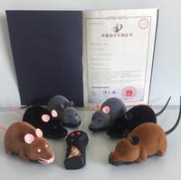 ingrosso animali ratti-Peluche mouse telecomando animali maliziosi giocattoli nuovi animali esotici giocattoli ratto confezione regalo bellissimo