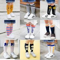 Wholesale Cute Socks For Kids - Girls Boys Kids Knee High Leg Infantil Menina Socks Cute Fashion Socks For Toddler Baby Girls Toddler Children Chaussette Delivery Randomly