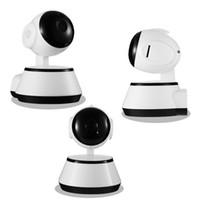 ingrosso sicurezza video-Home Security Telecamera IP WiFi Telecamera Videosorveglianza 720 P Visione notturna Rilevazione movimento Videocamera P2P Baby Monitor Zoom