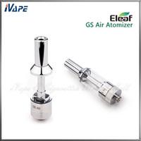 eleaf gs air double atomiseur achat en gros de-iSmoka Eleaf GS - Atomiseur d'air - Réservoir d'air Eleaf GS - Réservoir d'air - Fil double - Réglable - Double bobine - Clearomizer