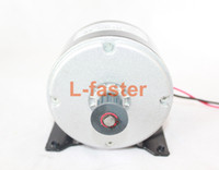 Wholesale electric scooter 24v resale online - 24V W Small Dolphin Scooter Motor Electric Bicycle Belt Drive Fitting MY1016 High Speed Belt MOTOR