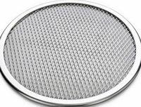 "Wholesale Seamless Screen - by DHL or EMS 100 pcs Pizza Stone of 11"" Seamless Rim Aluminium Pizza Mesh Screen Baking Tray Pizza Making Net"