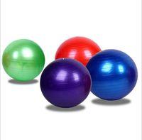 Wholesale 55cm fitness ball for sale - Group buy 45cm cm cm Yoga exercise Pilate ball gym fitness ball gym sport balance balls body massage ball