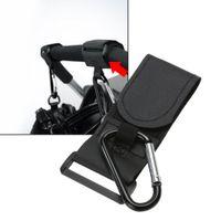 Wholesale Reversible Seat Pram - Wholesale- Baby Stroller Hook Stroller Accessoy Universal Large Pram Hooks With Automatic Locking Carabiner Hook Design Baby Stroller Ho