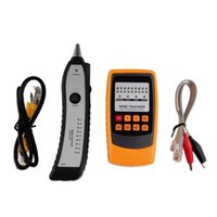 Freeshipping Cable Tester Tracker Linha telefônica Rede Finder RJ11 RJ45 Wire Tracer Wholesale