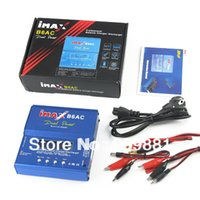 Wholesale Rc 4s Lipo - iMAX B6-AC B6AC Lipo NiMH 3s 4s 5s 11.1V 7.4V-22.2V RC Battery Balancer Charger 2S-6S B6 Charger With Leads