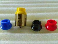 cumbre de punta ancha por goteo punta al por mayor-Comercio al por mayor vape 22mm 24mm consejos de goteo corto Vape Resin Summit goteo punta Wide Bore Drip Tips con 4 colores DHL libre
