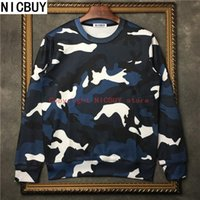 Wholesale Velvet Clothing Brand - fashion cotton autumn brand tag clothes men Valen butterfly style camo military style velvet fleece cotton casual hoodies sweatshirt