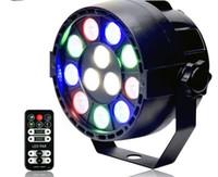 Wholesale Ir Light Bar - 15W IR Remote RGBW LED Par lights Sound Control dj disco bar Projector stage light Large concert Dyeing effect lighting MYY