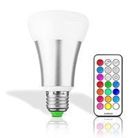 10W E27 E26 LED RVB RGBW Ampoules Globe Lampes Led Dimmable ampoules Magic Light Colorful Pour Noël Lighting + Controller