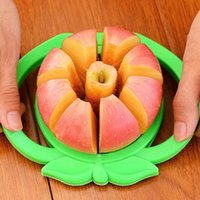 Wholesale Easy Slicer - New Corer Slicer Easy Cutter Cut Fruit Knife Cutter For Apple Pear Mini stainless steel apple slicer WX-C35