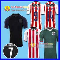 2017 2018 Chivas Guadalajara soccer jerseys 17 18 chivas jerseys Camiseta  de futbol away LOPEZ BRIZUELA third green football maillot de foot ... 9d0578a1ff1a2