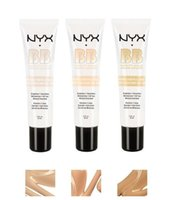 Wholesale Mineral Bb Cream - Latest NYX BB Cream beauty balm baume beaute brightens smoothes moisturizes oil free Mineral Enriched 30ml 4 Colors Free DHL shipping